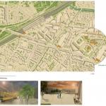 Bindewerk Durlach Ein neuer Stadteingang für Durlach / Annegret Probst Florian Munsky