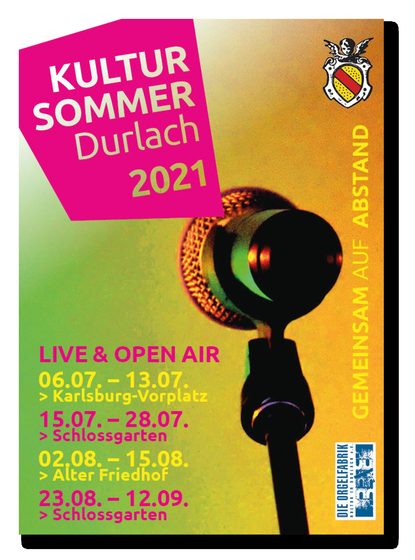 Programm Kultursommer Durlach 2021